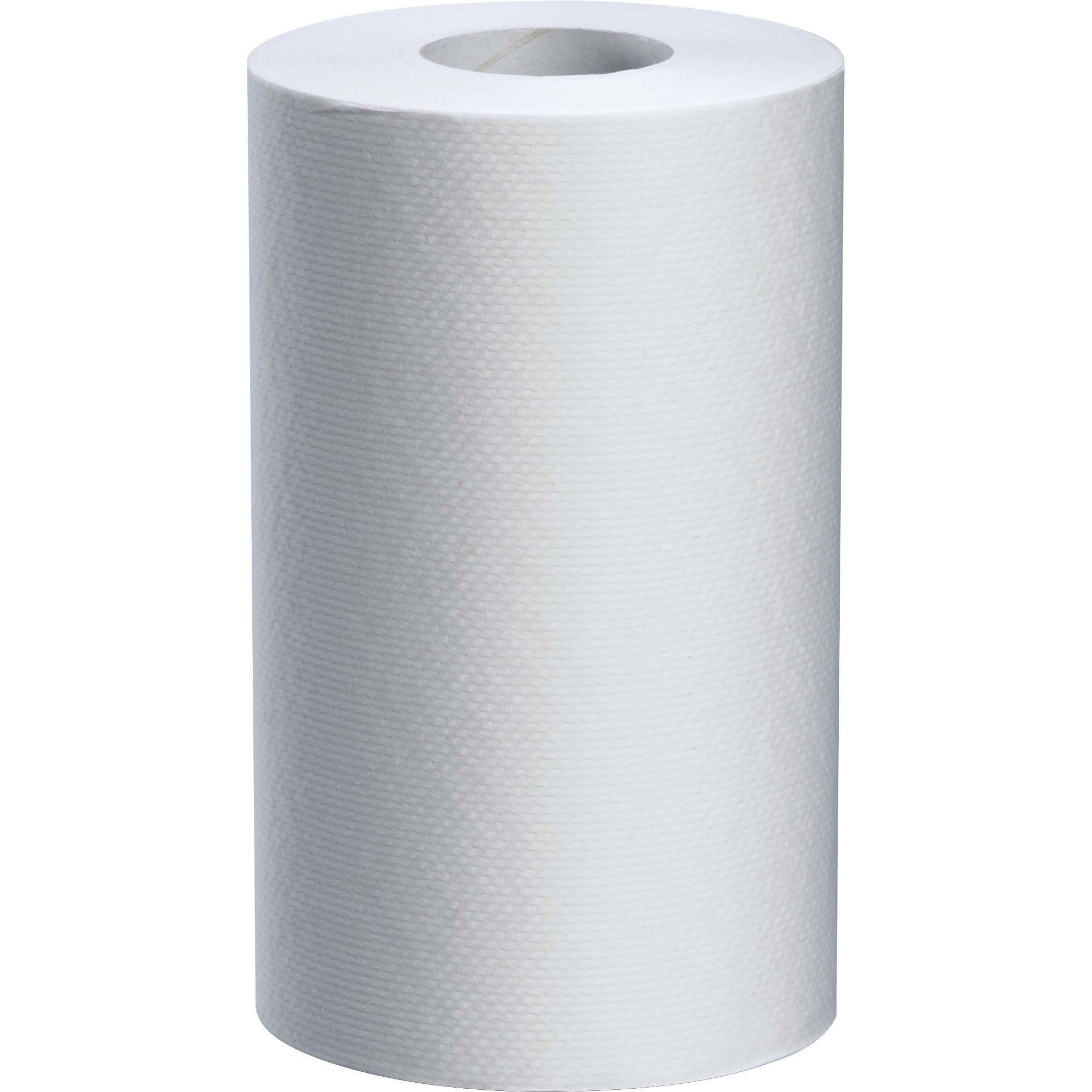 White Swan Roll Towels 1 Ply 8 X 205 Ft 24 Carton