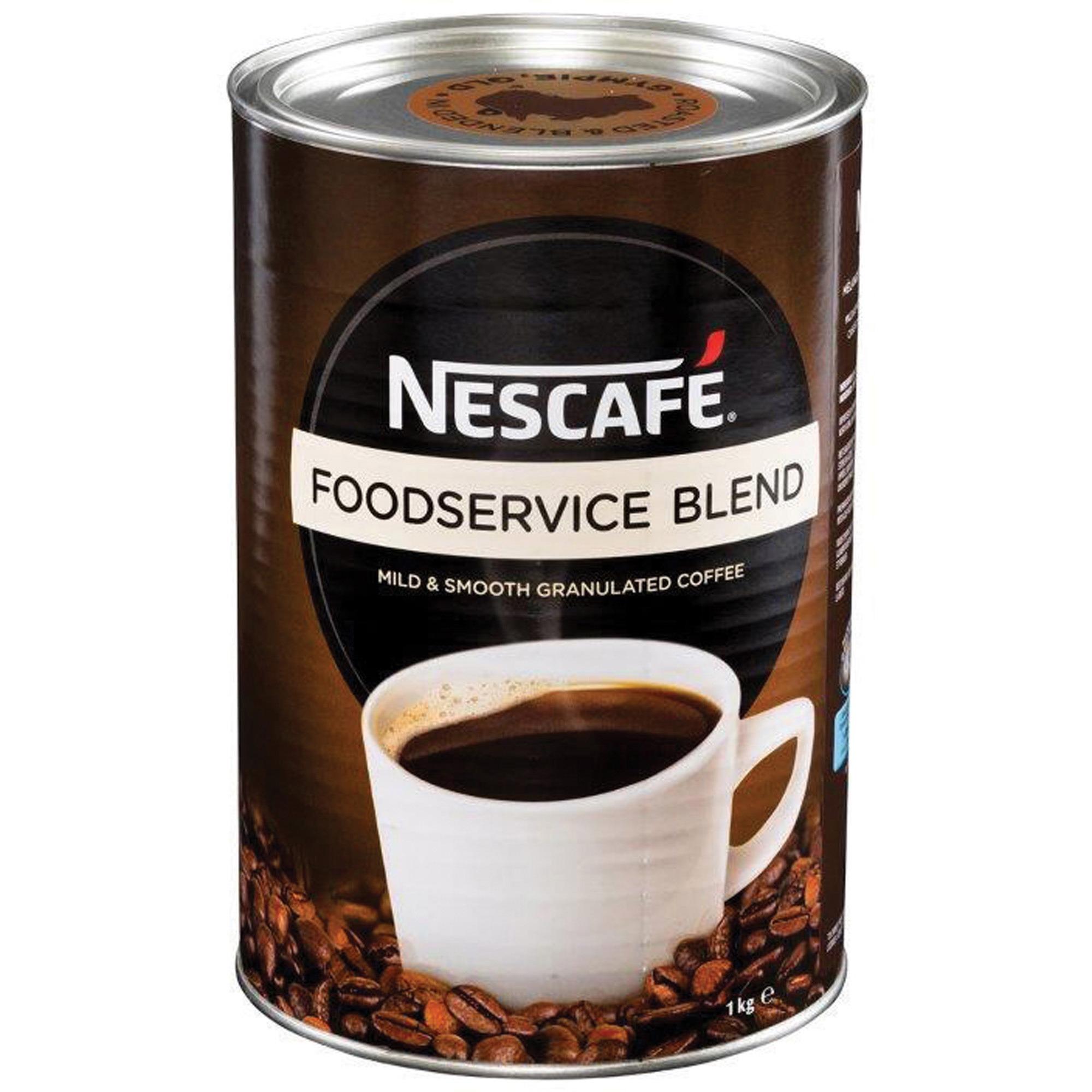 Nestle Professional Nescafe Foodservice Blend Coffee - 35.3 oz - 1 Each