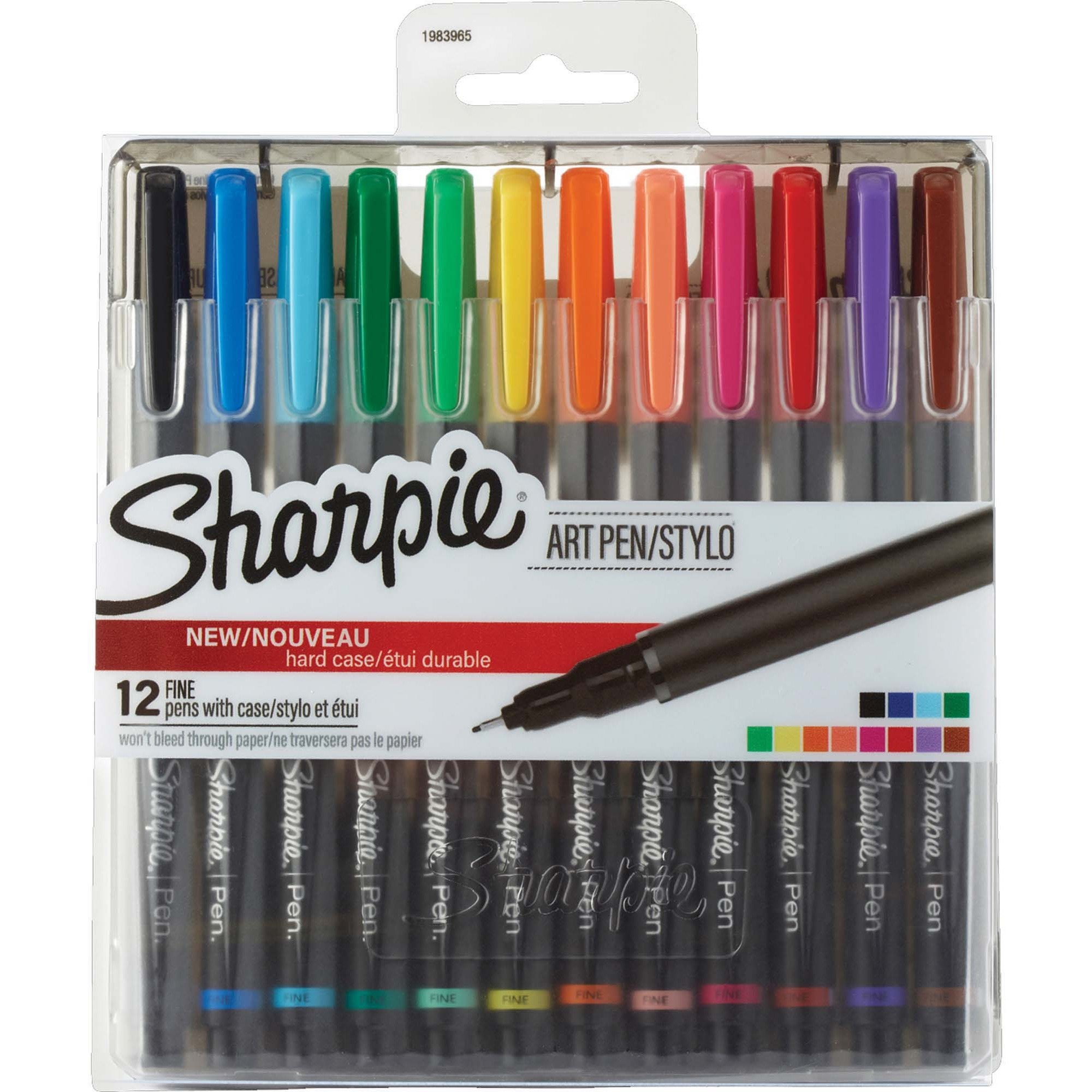 Sharpie Air Pens Fine Pen Point 0 8 Mm Size Black