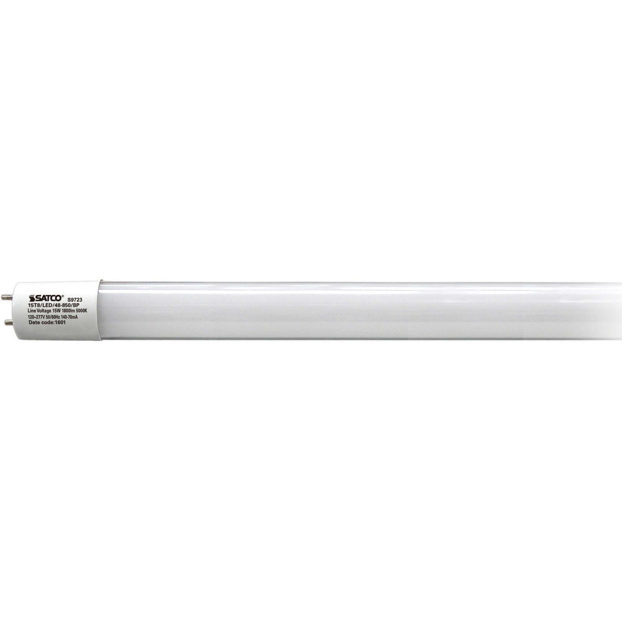 Satco T8 LED Tube Cool White 1800 Lumens - 15 W - 110 V AC - 1800 lm - Tubular - T8 Size - Cool White Light Color - 50000 Hour - 82 CRI - 10 / Carton  sc 1 st  Power Surge Technologies Ltd. & Power Surge Technologies Ltd. :: Furniture :: Office Decor ...