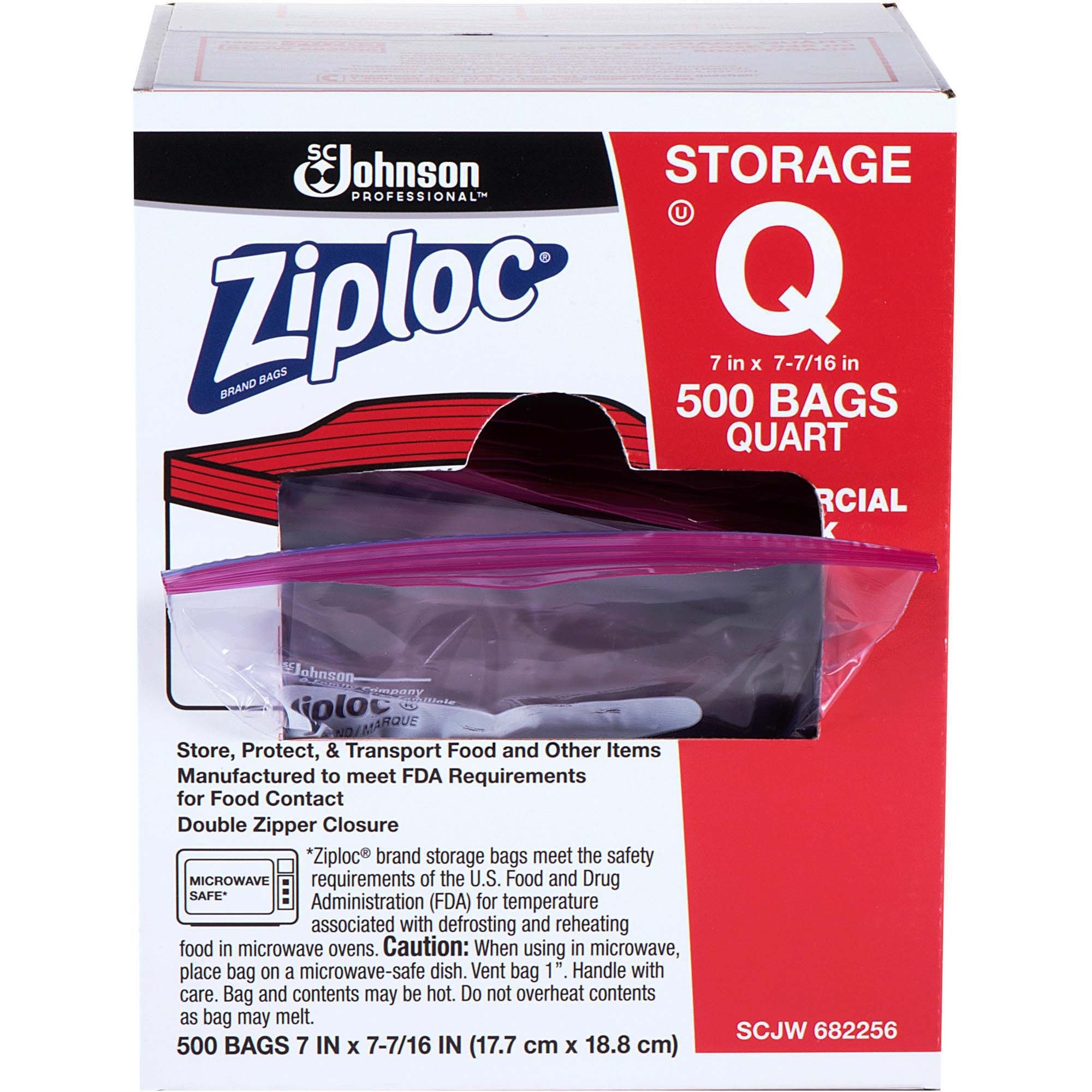 Power surge technologies ltd cleaning breakroom breakroom ziploc quart storage bags medium size 94635 ml 7 17780 mm width x 744 18891 mm depth 175 mil 44 micron thickness clear plastic reheart Image collections