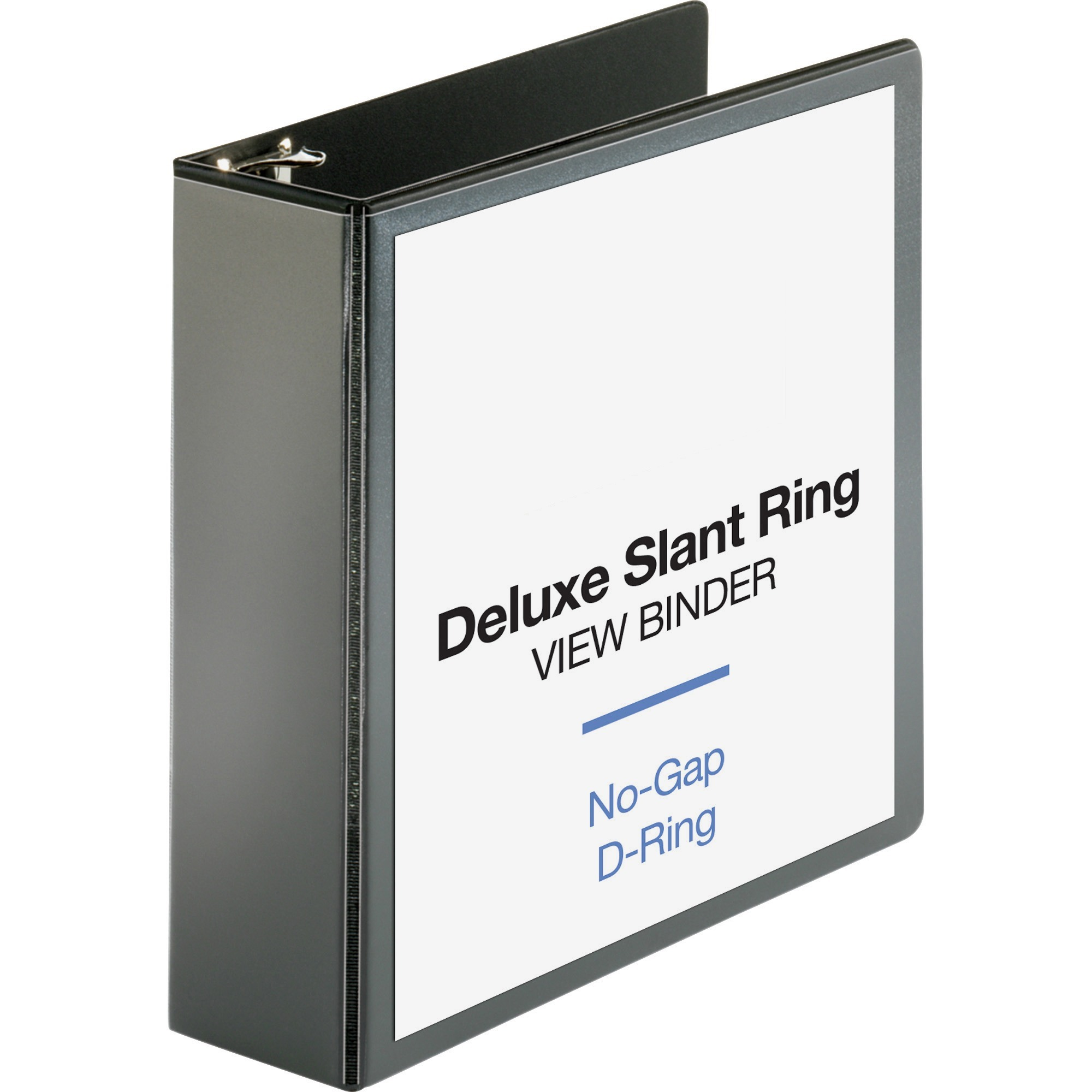 "Non-Locking Slant-D Rings 835-Sheet White 3/"" 3-Ring Binder"