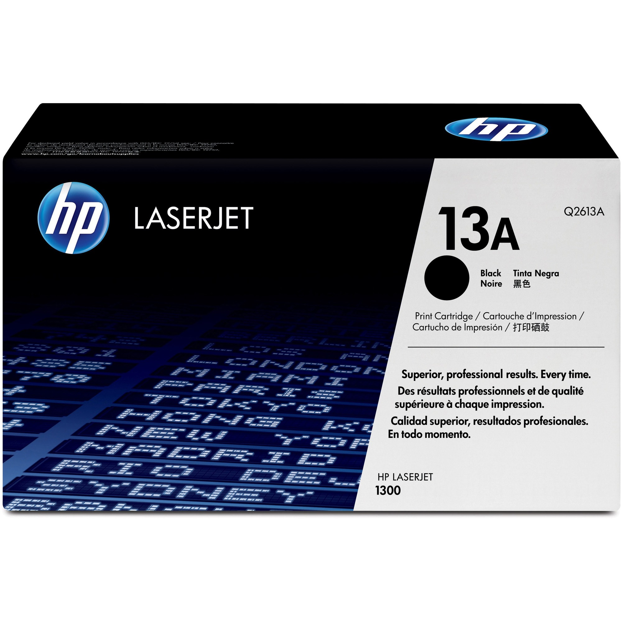 HP 13A Toner Cartridge - Black - Laser - 2500 Page - 1 Each