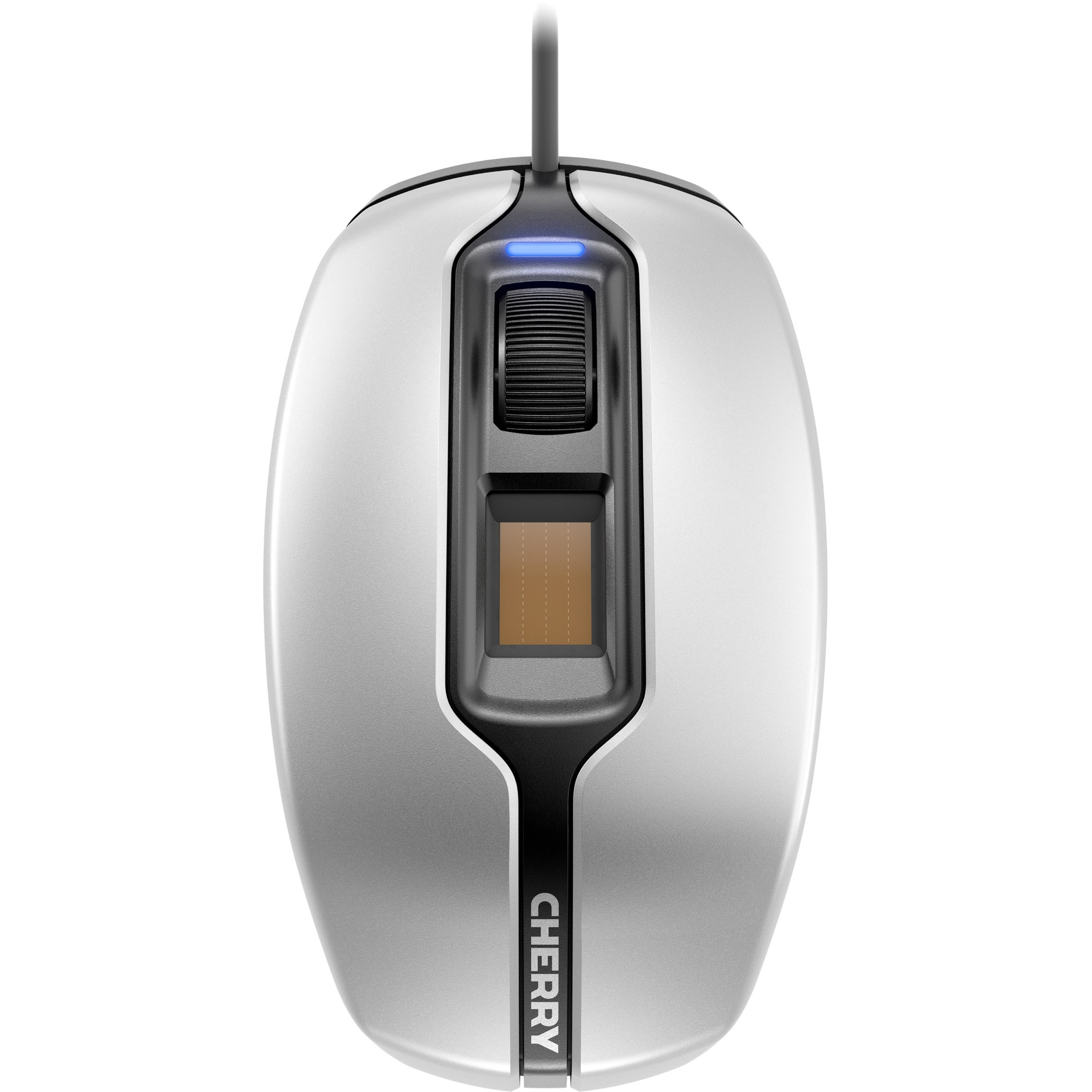 Cherry MC 4900 Mouse - Optical - Cable - 3 Buttons - Silver, Black