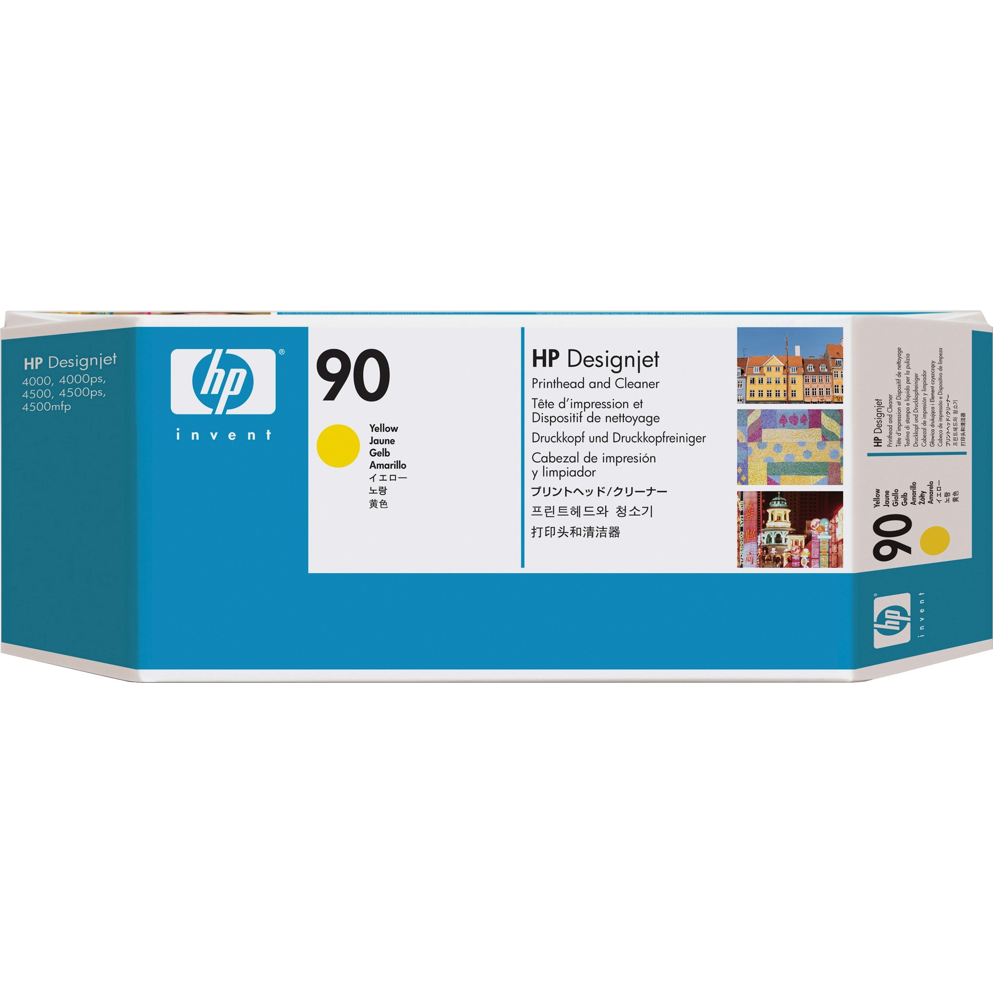 HP 90 Yellow Printhead with Cleaner - C5057A