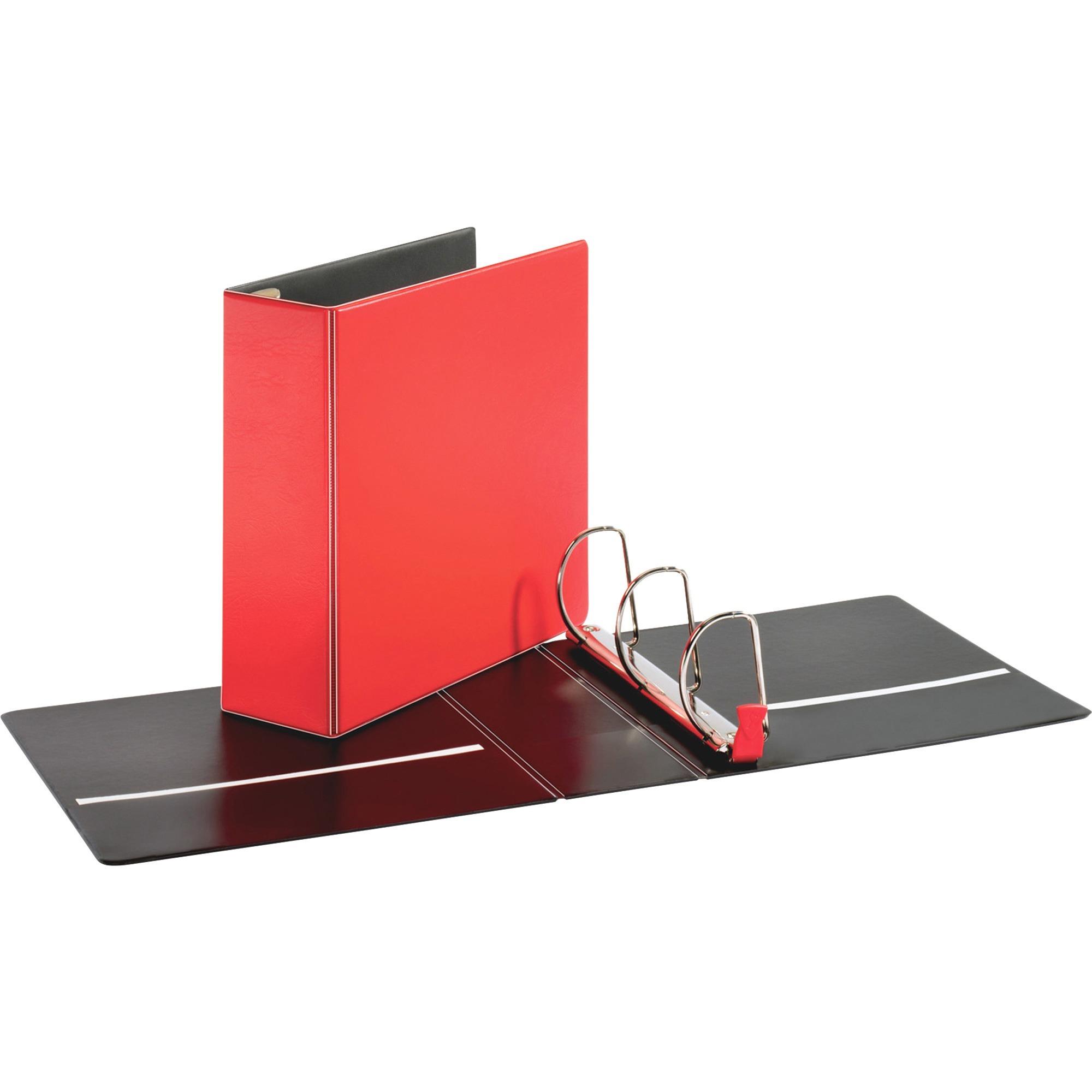 Cardinal Premier Easy Open Locking Slant D Binders 4 Binder Capacity Letter 8 1 2 X 11 Sheet Size 775 3 Ring Fastener S