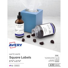 "AVE 5196 Avery 3-1/2"" Diskette Labels AVE5196"