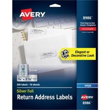 AVE8986 - Avery&reg Foil Return Address Labels