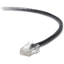 BLK A3L79105BLKS Belkin RJ45 CAT5e Snagless Patch Cable BLKA3L79105BLKS