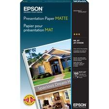 EPS S041067 Epson Matte Presentation Paper EPSS041067