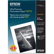 EPS S041343 Epson Ultra Premium Matte Presentation Paper EPSS041343