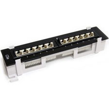 StarTech 12 Port Patch Panel