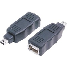 StarTech 4 Pin to 6 Pin FireWire Adapter