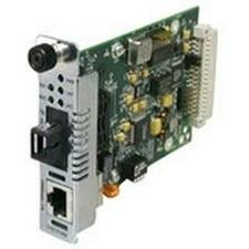 Transition Networks Fast Ethernet Point System Slide-In-Module Media Converter