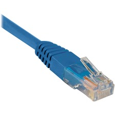 TRP N002010BL Tripp Lite Cat5e Molded Patch Cable TRPN002010BL