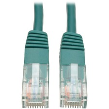 Tripp Lite 7 ft CAT 5e Patch Cable - Green