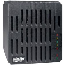 Tripp Lite 1200W Mini Tower Line Conditioner - Surge, EMI / RFI, Over Voltage, Brownout protection - NEMA 5-15R - 110 V AC Input - 1.20 kVA - 1.20 kW