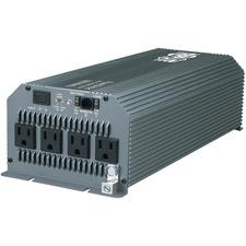 Tripp Lite Compact Inverter 1800W 12V DC to 120V AC 4 Outlets 5-15R