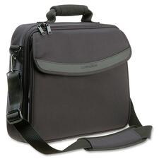 "Kensington Carrying Case for 14.1"" Notebook - Black - Shoulder Strap, Handle - 13.25"" (336.55 mm) Height x 4"" (101.60 mm) Width x 16"" (406.40 mm) Depth"