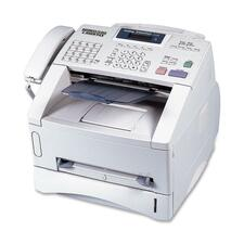 Brother FAX4100E Business-Class Laser Fax - Laser - Monochrome - 15 cpm Mono - 600 dpi - 250 Sheets Input - Plain Paper Fax - 33.60 kbit/s Modem