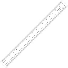 ACM 10564 Acme Westcott See-Through Acrylic Ruler ACM10564