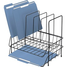 FEL 72371 Fellowes Double Tray Desk Organizer w/ Sorter FEL72371