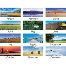 At-A-Glance Landscape Monthly Calendar