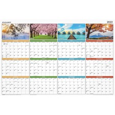 AAG PA133 At-A-Glance Seasons in Bloom Wall Calendar AAGPA133