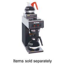 BUN 133000012 Bunn-O-Matic Two Warmer Coffee Brewer BUN133000012