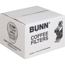 BUN BCF250 Bunn-O-Matic Home Brewer Coffee Filters BUNBCF250