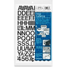 CHA 01020 Chartpak Vinyl Helvetica Style Letters/Numbers CHA01020
