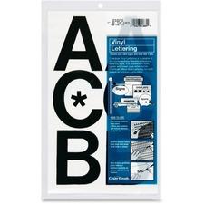 CHA 01070 Chartpak Vinyl Uppercase Letters CHA01070