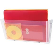 DEF 64301 Deflecto Unbreakable Plastic Wall Pockets DEF64301