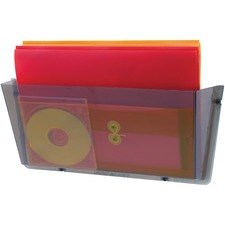 DEF 64302 Deflecto Unbreakable Plastic Wall Pockets DEF64302