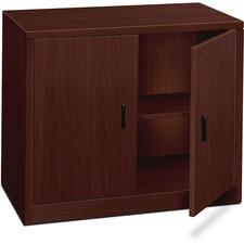 HON 105291NN HON 10500 Series Mahogany Lam. Storage Cabinet HON105291NN