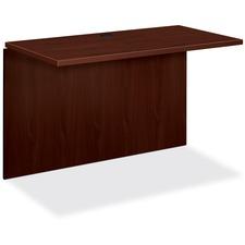 HON 10570NN HON 10500 Series Mahogany Laminate Office Desking HON10570NN