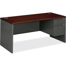 HON 38291RNS HON 38000 Series Mahogany Lam/CCL Steel Desking HON38291RNS