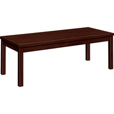 HON 80191NN HON Mahogany Laminate Occasional Coffee Table HON80191NN