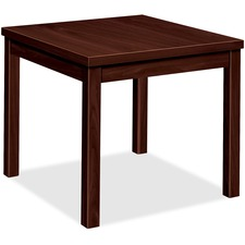 HON 80193NN HON Mahogany Laminate Occasional End Table HON80193NN