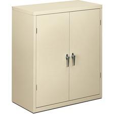 HON SC1842L HON Adjustable Putty Steel Storage Cabinet HONSC1842L