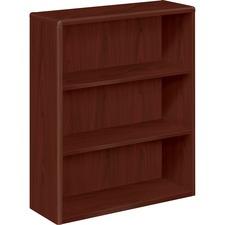 HON 10753NN HON 10700 Series Mahogany Laminate Bookcase HON10753NN