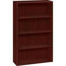 HON 10754NN HON 10700 Series Mahogany Laminate Bookcase HON10754NN