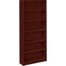 HON 1877N HON Mahogany Square-edge Laminate Bookcases HON1877N