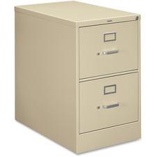HON 212CPL HON 210 Series Locking Vertical Filing Cabinets HON212CPL