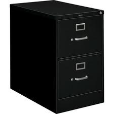 HON 212CPP HON 210 Series Black Vertical Filing Cabinet HON212CPP