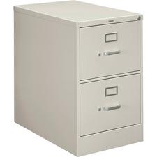 HON 212CPQ HON 210 Series Light Gray Vertical Filing Cabinet HON212CPQ