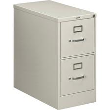 HON 212PQ HON 210 Series Light Gray Vertical Filing Cabinet HON212PQ