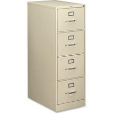 HON 214CPL HON 210 Series Locking Vertical Filing Cabinets HON214CPL