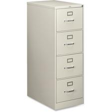 HON 214CPQ HON 210 Series Light Gray Vertical Filing Cabinet HON214CPQ