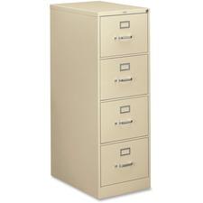 HON314CPL - HON 310 Series 4-Drawer Vertical File